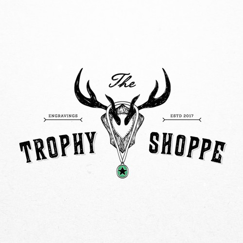 Concept for The Trophy Shoppe