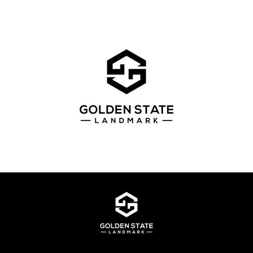 Design logo for real estate holding and management, Golden State Landmark.
