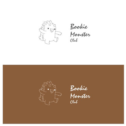 logo for Bookie monster club