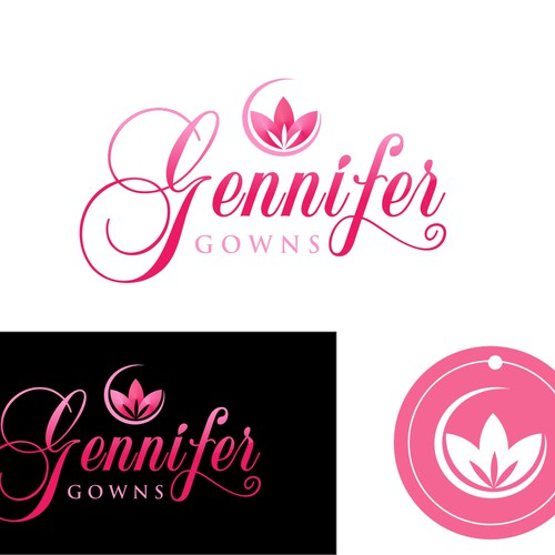 logo for Gennifer Gowns
