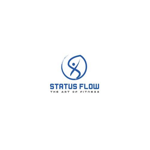 bold logo for fitness brand