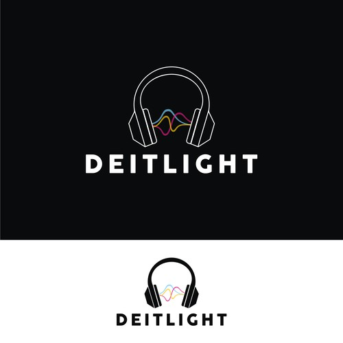 Deitlight DJ needs a marketable logo