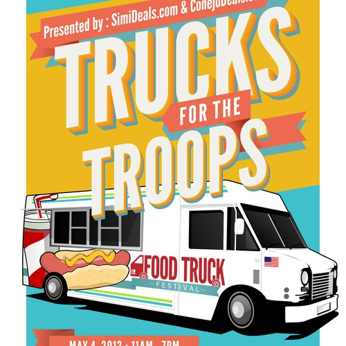 Help Trucks For The Troops with a new art or illustration