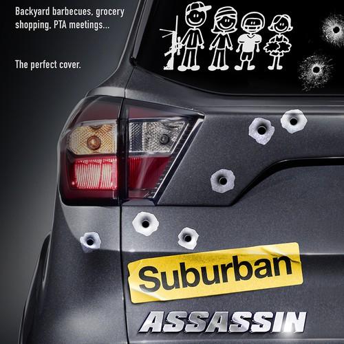 """Poster for """"Suburban Assassin"""""""