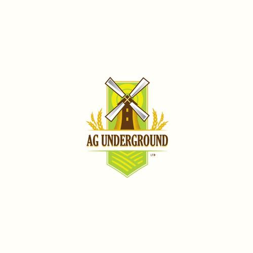 Vintage agricultural design - Ag Underground Ltd