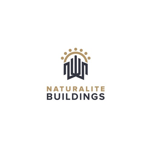 Logo for nature friendly buildings