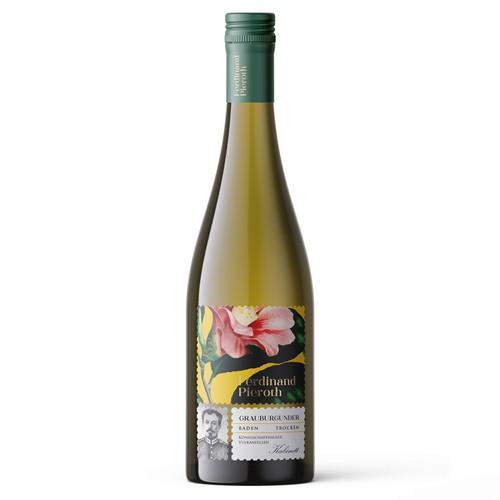 Ferdinand Pieroth Wine label