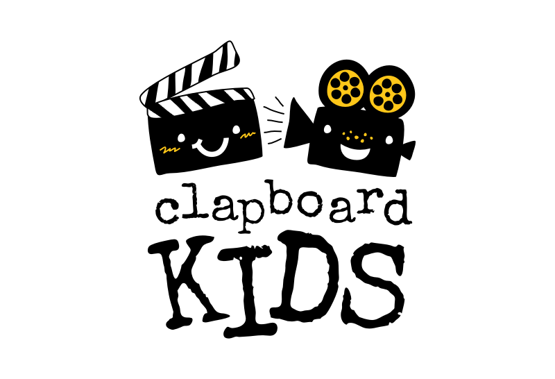 "KIDS FILMMAKING LOGO: Give us your ""take"" on an eye-catching logo! We teach filmmaking to kids, ages 6 and up."