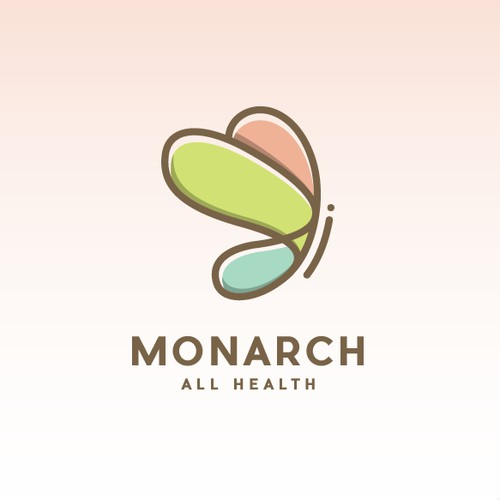 Monarch All Health needs a Iconic, Memorable, and Whimsical logo.