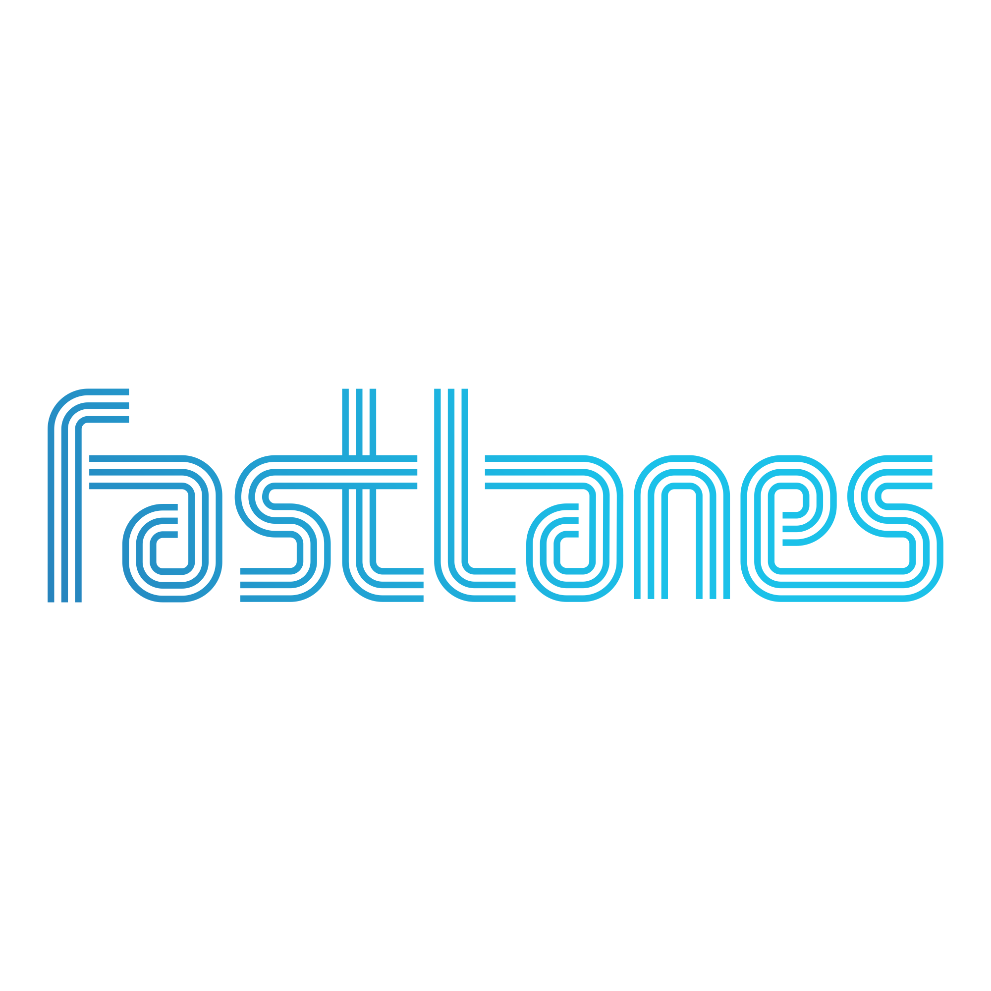 """Create """"Fast Lanes"""" Logo for Highway-Tech Startup"""