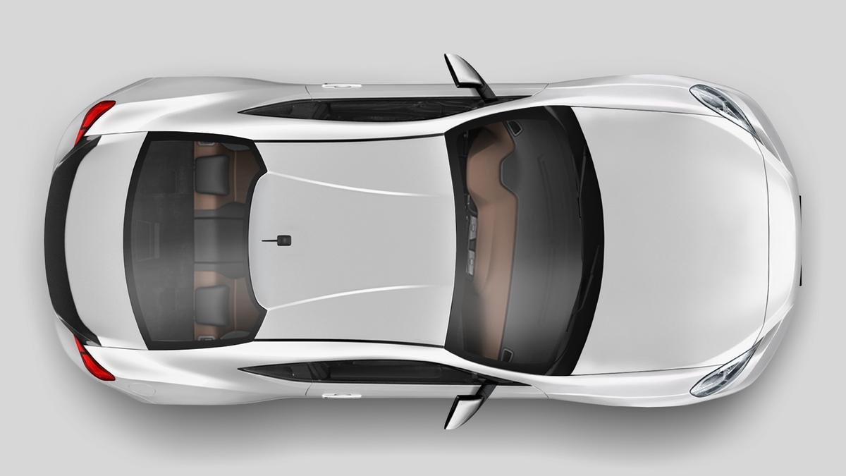3D Car render illustration