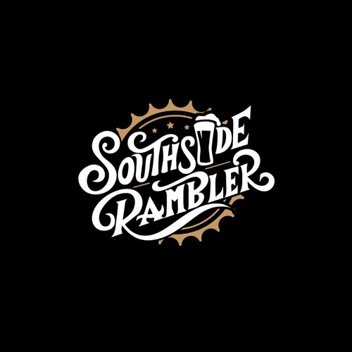 custom made lettering retro style