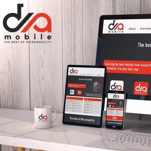 Dna Mobile logo concept