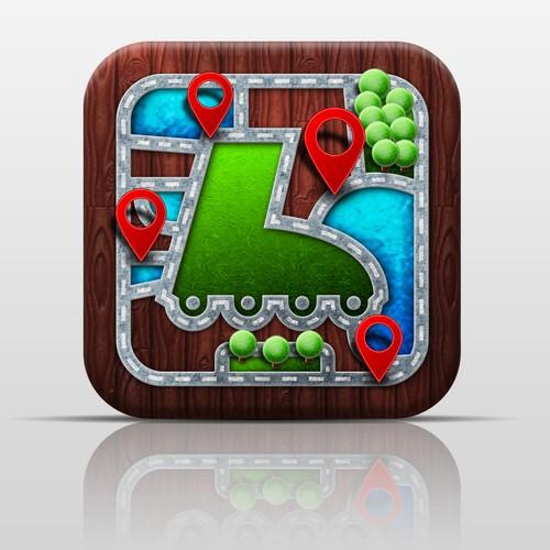 Skate Routes - App Icon (NS Tech)