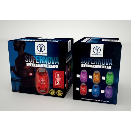 Product Packaging for Whole Human_SuperNova Safety Lights