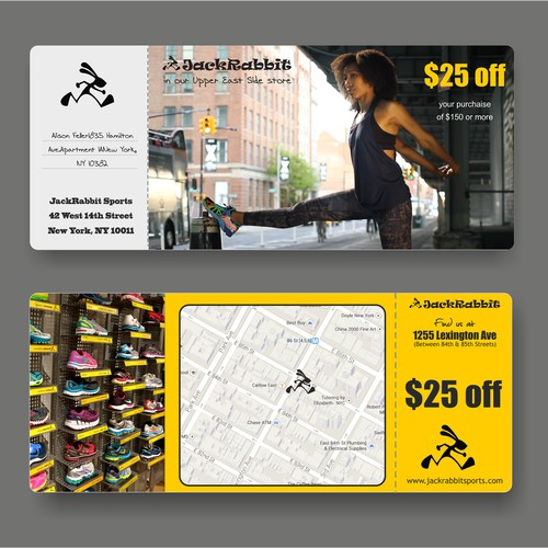 GUARANTEED – High-End Direct Mail NYC Running Store