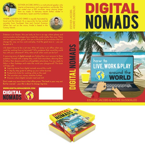 Book cover for Digital Nomad guide