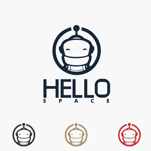 Astrolien for Hello Space Logo