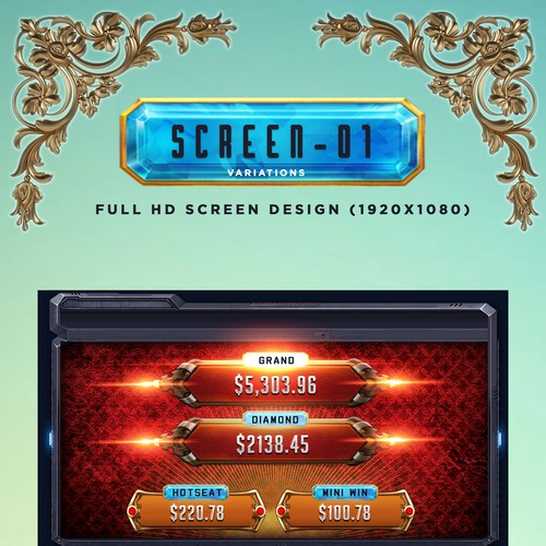 Design Slot Game Launcher