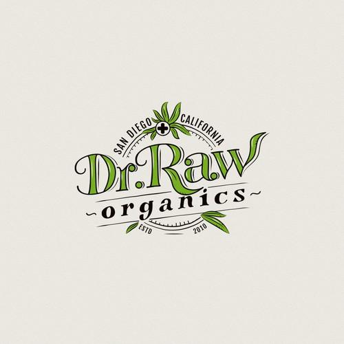 Organic cannabis products logo
