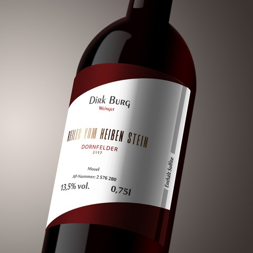 Dirk Burg Label Design