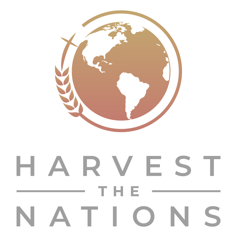 """Create a sophisticated brand logo for """"Harvest the Nations"""" evangelistic ministry"""