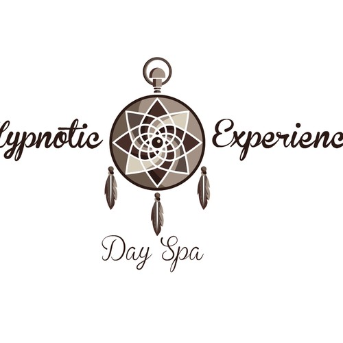 Create a modern hypnotic dream-catcher logo!