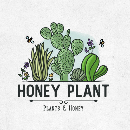 Logo for Honey Plant