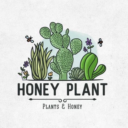 Logo for Honey Plant