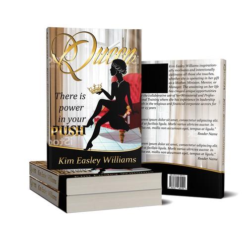 Queen- book cover design