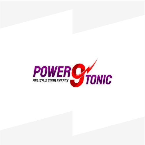 Logo Winner for Power 9 Tonic