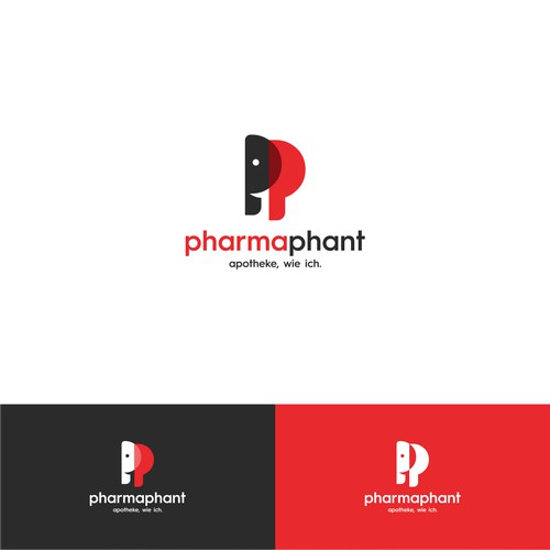 Smart logo for pharmaphant