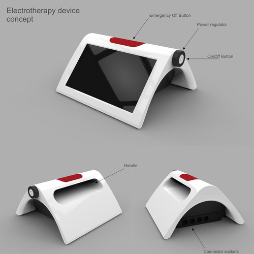 Electrotherapy device concept