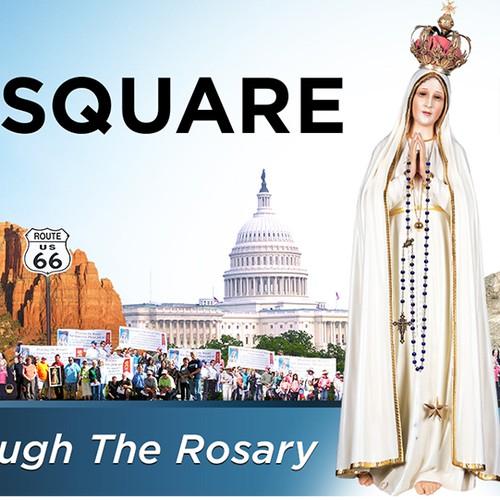Rosary Crusa Banner