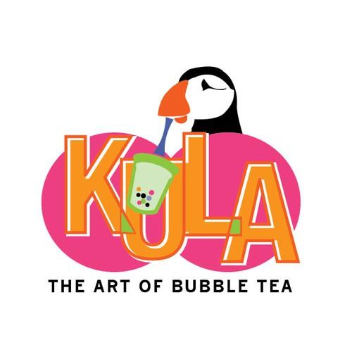Logo for KULA bubble Tea