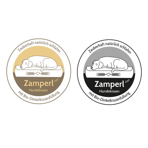 Logo for ZAMPERL Dog-Beds