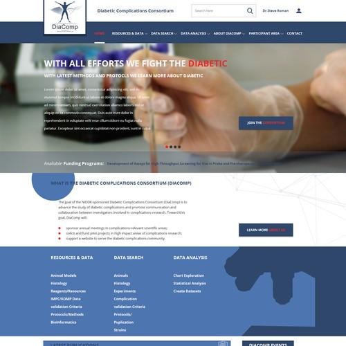 Diacomp web design
