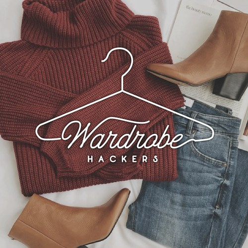 Wardrobe Hackers Logo Design