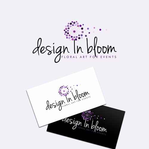 logo for design in bloom