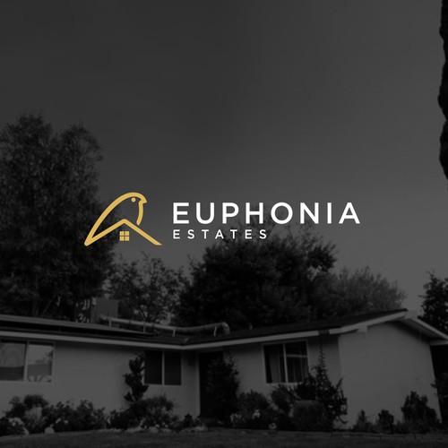 EUPHONIA ESTATE LOGO CONCEPT