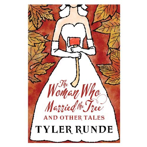 Cover design/illustration for folk tales novel