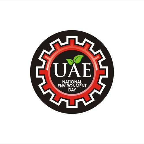 "Emblem for ""UAE National Environment Day"""