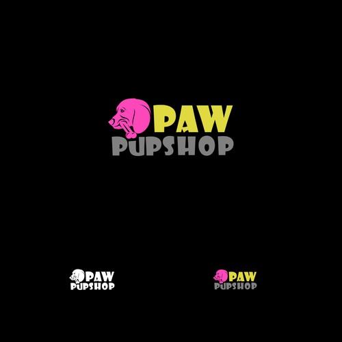 Seeking BOLD and HIPSTER Dog Treat Logo