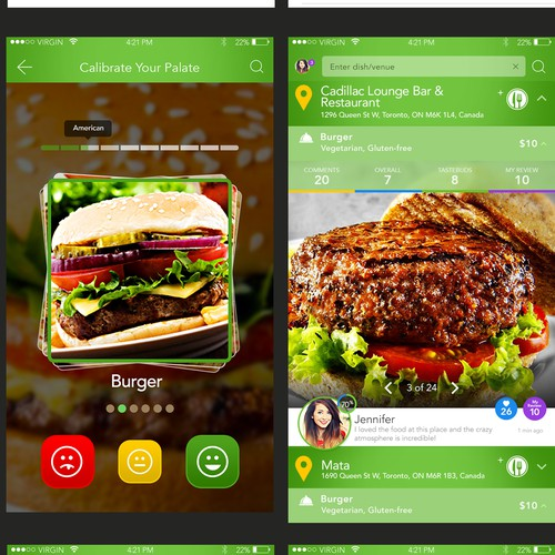 Create an Instant Social Network for Foodies by Building the Best Venue & Dish Review app ever