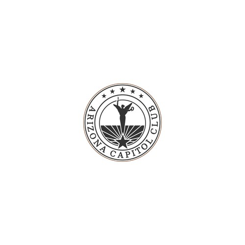 Professional and clean Logo for Arizona Capitol Club