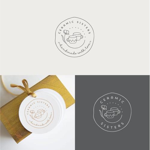 logo for handmade ceramics