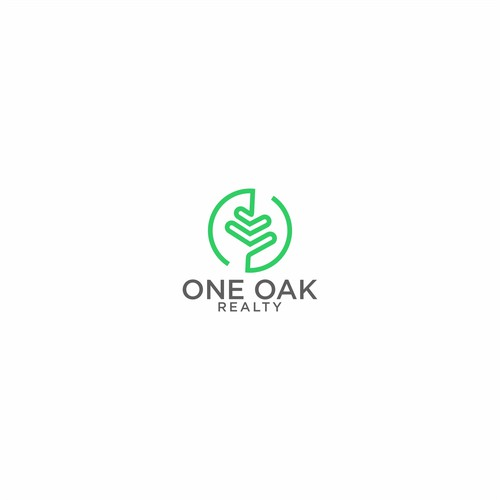 One Oak Realty needs a logo that instills competence in the mind of the consumer. Help me create a brand identity.