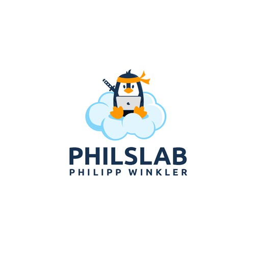 A Cloud Ninja logo for Philslab