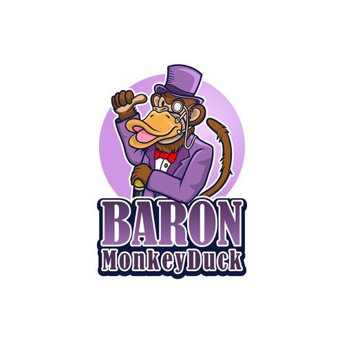 Logo for Baron Monkeyduck