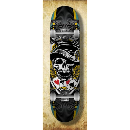 New illustration wanted for Skateboard